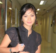Angel Locsin  is a Filipina film actress, commercial model, film producer and fashion designer.