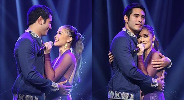 gerald and maja�s rare display of public sweetness