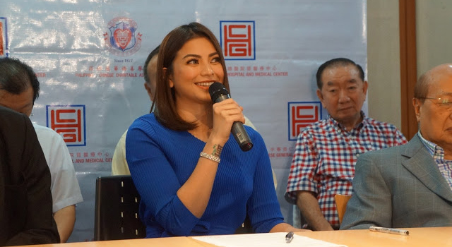 Glaiza De Castro is Ambassadress of Goodwill of PCCAI - Glaiza De Castro