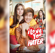 "On-screen couple Julia Barretto and Joshua Garcia plays the roles of rivals in the upcoming movie ""I Love You, Hater."" Star Cinema has finally released the first teaser of the movie which also stars Queen of All Media Kris Aquino. Barretto plays Zoey, a determined […]"