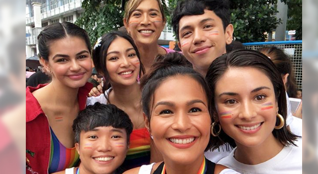 Celebrities join Metro Manila Pride March